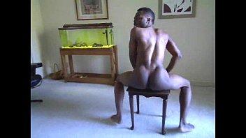 Gay black guys naked Naked black guy shaking that ass..nice.
