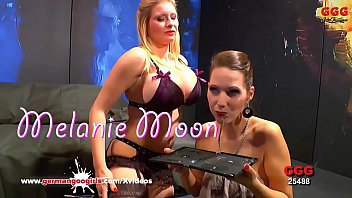 Melanie Moon and Viktoria Goo Cum Cum Swapping - German Goo Girls