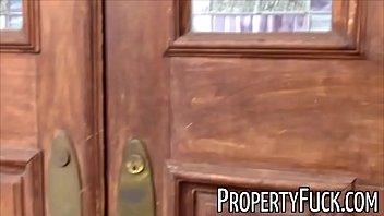 Pervert with camera fucks hot real estate agent thumbnail