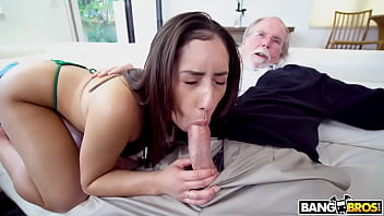 BANGBROS - Latin Teen Kira Perez Gets Pounded By Horny Old Pervert Jack Moore