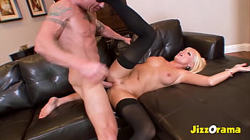 JizzOrama - Blonde Babe Mum Get Fucked By Big Cock Old Men