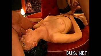 Babes receive jizz flow shower