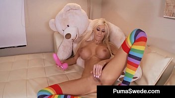 Mature dirty talking video - Dirty talking girl puma swede rams her wet cunt with a toy