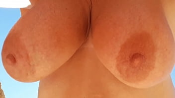 Who wants to suck my dangling udders from an old bitch