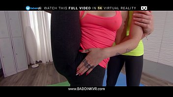 Yoga Sluts Marilyn Sugar And Alexa Flexy Taste Your Cock