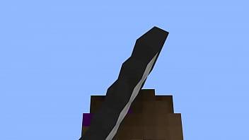 Minecraft girl wins in bedwars