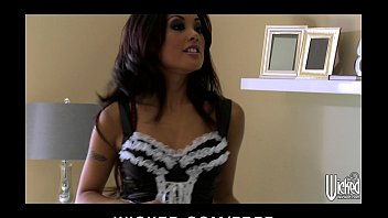 Kaylani lei pornography - Sexy asian maid kaylani lei cleans up her clients house dick
