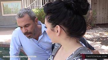 Aria Alexander - Dad Fucks Step Daughter While Mom Isn't Around