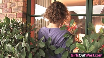 Slender Aussie lesbian babes finger each other 16 min
