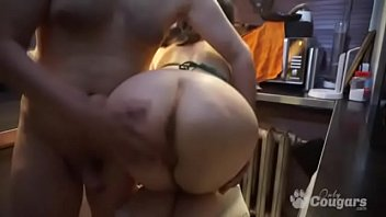 Chunky Housewife Gets Nailed Doggy On Webcam