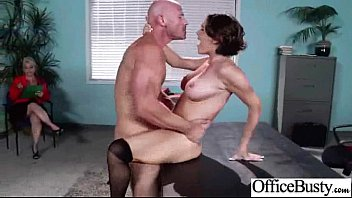(krissy lynn) Big Tits Girl Get Hard Style Nailed In Office video-23