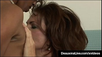 Hung Young Black Stud Fucks Hot Mature Mommy Deauxma! image