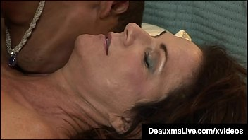 Hung Young Black Stud Fucks Hot Mature Mommy Deauxma!