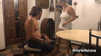 Before going to s. her aunt wants her good dose of cock