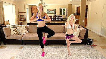 Fingering tips pussy - Lesbian sex after fitness lesson - alexa grace and piper perri