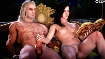 The Witcher 3 Porn Hunt full game porn movie 01h56min video