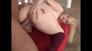Sexy young blonde with perfect ass Charlotte Stokely gets her pussy fucked by big dick then facialized