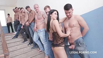 Nicole Black - 10on1 DAP Gangbang and Balls Deep Anal 2 min