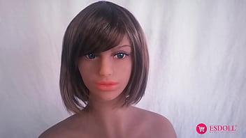 ESDOLL.COM 153cm Silicone Sexy Real Sex Doll LifeLike Love Doll – Brandy