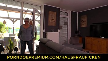 Hausfrau Ficken - Chubby German Granny Fucks Her Husband During Mature Amateur Tape