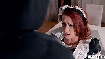 Hd redhead porn tube - Redhead maid isabella lui catches thief in the act before anal fuck
