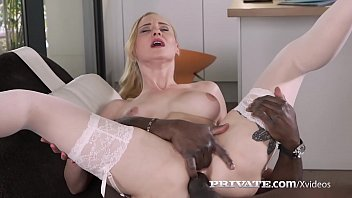 Lingerie sheer valentine Helena valentine debuts 4 private in interracial anal
