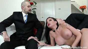 Milf slut vids with swinging tits - Husband arranges affair for wife
