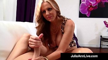 I want to live to live for your pleasure - World famous milf julia ann wants your hot cum on her tits