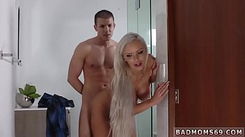 Scissor blowjob and mom trapped in sink A m. playfellow's