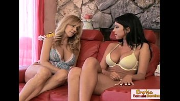 Playful hotties go lesbian for the first time ever