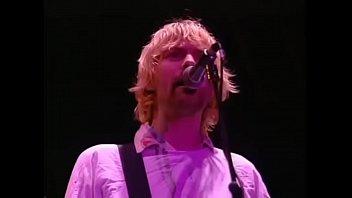 Vintage kurt cobain nirvana - Nirvana - all apologies - live at reading 1992