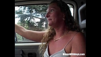 Mature and boy vid - Blonde mature hitch hiker gets fucked
