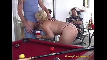 One Granny, One Teenager and One HOT Orgy