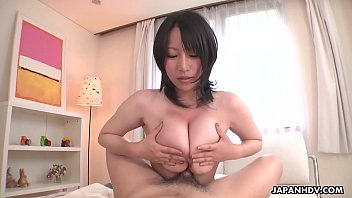 Image: Big breasted Japanese babe Yuna Hoshizaki rides cock in POV