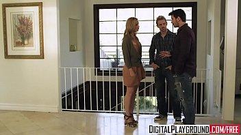 Hot blonde (Kayden Kross) fucks the pizza boy - Digital Playground 8 min