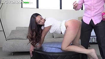 Sugar Baby Jackie Is One Nasty SLUT For Daddy Dick - Spitting, Slapping, Spanking, She LOVES It All!