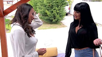 Anissa Kate gets her best lesbian on with busty Belgian Valentina Ricci