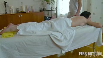 Tall woman enjoying nice massage when her masseur tricks her and fucks her 6 min