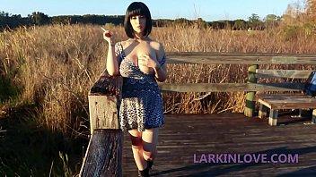 Big Tit Brunette Whore Squirts In Public Larkin Love 26 min