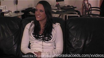 professional cheerleader getting naked and making porno for the first time 12 min