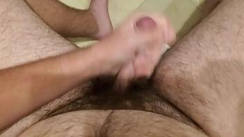 Stroking my cock until I cum