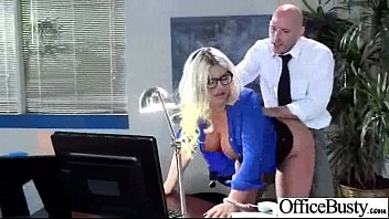 Office Girl (julie cash) With Big Tits Banged Hard Style video-21
