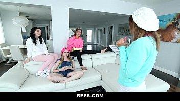 BFFS - Upset Daddy Fucks Babysitter Club 11 min