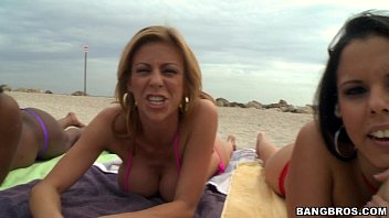 BangBros Beach Time with Jada Fire, Diamond Kitty and Alexis Fawx