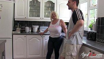 AgedLovE Busty British Blonde Mature Hardcore 8 min