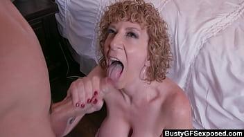 BustyGFS - Milf Artist Sara Jay With Huge Tits Fucks A y. Stud