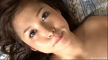 Moe Yoshikawa teases two guys until they go nuts for her body