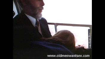 Sex on a plane stories - This old man gets a blowjob in an airplane