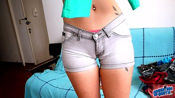 Cute latina teen naked - Perfect ass latina teen maid sexy cameltoe and cute titties