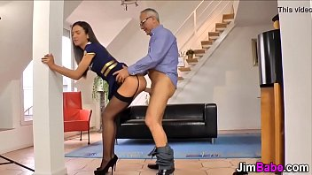 Standing Doggystyle Teen Stockings Compilation 15 min